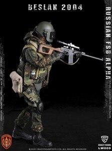 Image 5 - CrazyFigure LW009รัสเซียAlphaกองกำลังพิเศษSniper 1/12 ACTION FIGURE