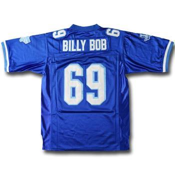 Camiseta de fútbol con costuras de alta calidad, de la universidad para hombre, con S-3XL Azul, de la película de
