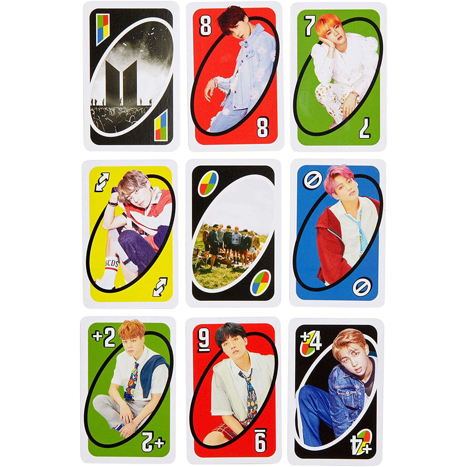 BTS UNO Cards (Gift Box)
