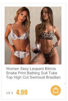 Women Sexy Solid Bikini Set Low Waist Brazilian Bathing Suit Swimwear Summer Swimsuit Female Yellow Beach Wear Biquini 17