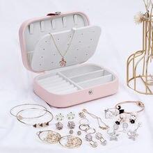 Кожаная многофункциональная коробка для хранения ювелирных изделий