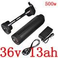 Литиевая батарея для электрического велосипеда 36 в 13 А · ч  литиевая батарея для 36 в 250 Вт 350 Вт 500 Вт