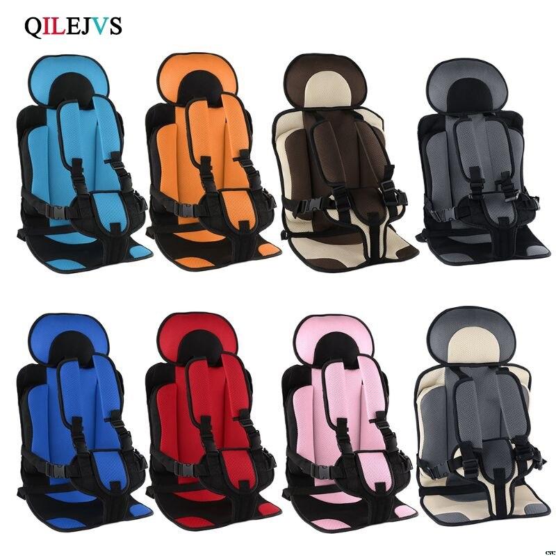 1-5T Viagem Tapete Tecido Almofada Do Assento Com Cinto de Segurança Infantil da Segurança Do Bebê Criança Pequena Transportadora de Carro da Criança assentos de segurança para crianças