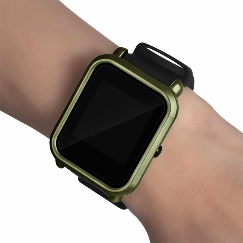 Funda protectora para Huami AMAZFIT funda de reloj de repuesto funda protectora de marco para Xiaomi Huami Amazfit Bip Youth/Lite