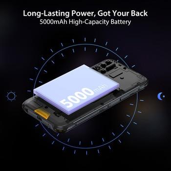 "UMIDIGI BISON 6.3"" FHD+ Display IP68/IP69K Waterproof Rugged Phone 6GB 128GB Smartphone 48MP NFC Android 10 5000mAh Mobile Phone 6"