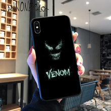 MARVEL VENOM ใหม่ล่าสุด Super HERO Coque SHELL สำหรับ iPhone 8 7 6 6S PLUS X XS MAX 5 5S SE XR 11 11pro PROMAX Coque SHELL(China)