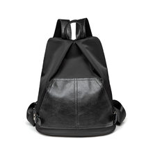 Youth Vintage Tassels Backpack Women Retro Leather Rucksack Big Capacity School Bag For Teenager Girl Travel Bolsas School C1126(China)