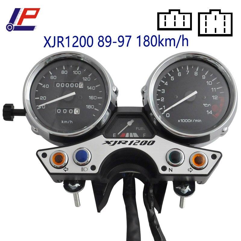 260 км/180 км/ч мотоциклетные датчики Спидометр Тахометр метр наружный чехол Крышка инструмент в сборе для XJR1200 XJR1300