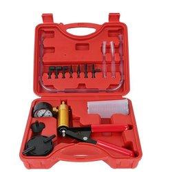 Pompa próżniowa samochodowe ręczne pompowanie podwójnego zastosowania ujemne ciśnienie ssania wymiana oleju hamulcowego detektor Repair Tool|Pompy próżniowe|   -