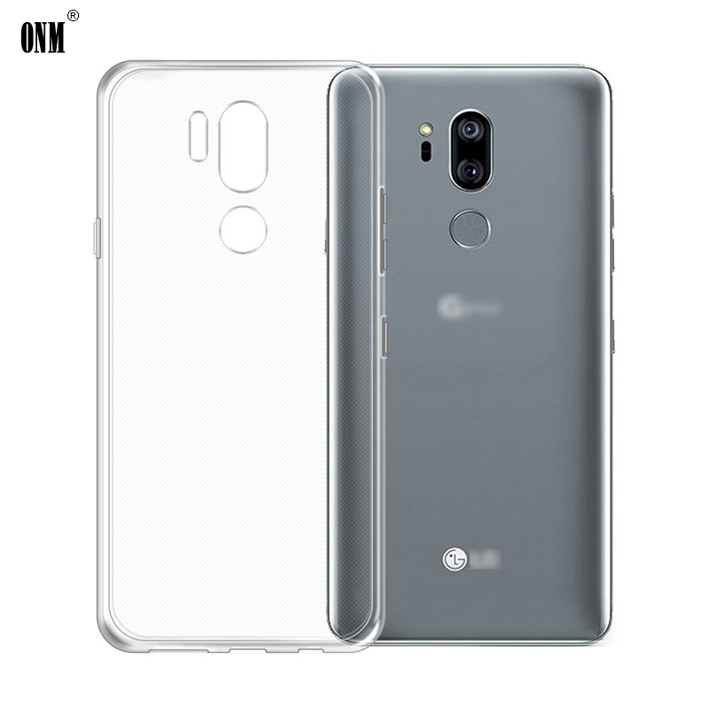 Case For LG G6 G7 Thinq TPU Silicon Durable Clear Fitted Bumper Soft Case For LG G7 Plus G7+ G710EM Transparent Back Cover