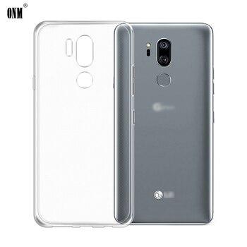 Funda para LG G6 G7 ThinQ TPU silicona duradera transparente parachoques suave para LG G7 Plus G7 + G710EM parte posterior transparente cubierta
