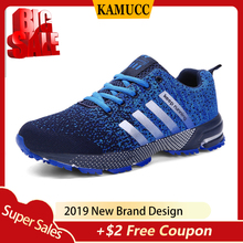 Breathable Running Shoes Fashion Large Size Sports Popular Mens Casual Comfortable Womens Sneakers 35-47