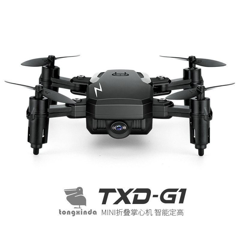 New Products Txd-g1 Unmanned Aerial Vehicle Folding Mini Quadcopter Set High Wifi Aerial Photography Real-Time Transmission