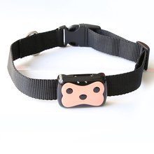 MiNi Pet Tracking Collar GPS Tracking Smart Waterproof Tracker Collar For Dog Cat GPS LBS Positioning Geo-Fence Track Device mini waterproof smart gps mini tracker with collar for pets cats dogs 4 frequency gprs gps lbs dual location with app