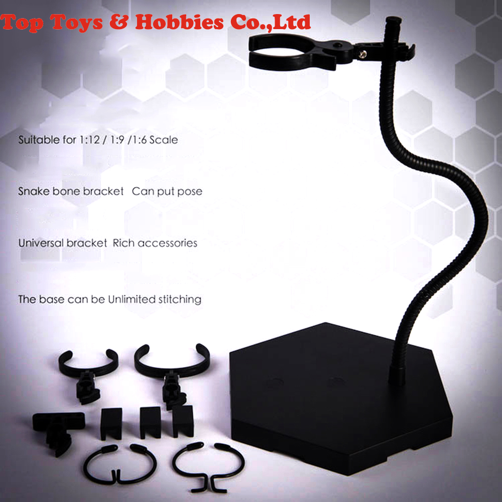 Details about  /US Unlimited Stitching Stand Black Bracket Display Base For 1:6 1:9 1:12 Figure