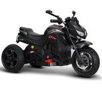 Motocicleta elétrica das crianças de três rodas duplo drive brinquedo da motocicleta do bebê pode sentar pessoas crianças carro de brinquedo grande carro elétrico|Carrinhos p/ dirigir| |  -