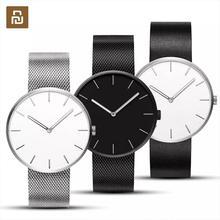 Nowy Youpin TwentySeventeen analogowy zegarek kwarcowy 39mm Luminous 3ATM wodoodporny moda elegancki mężczyzna kobiet luksus