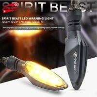 Espírito besta motocicleta transformar luzes carro modificado à prova dwaterproof água transformar luzes led direção luzes decorativas #|  -