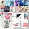 Funda con tapa para tableta Samsung Galaxy Tab A A6 10,1 2016 T580 T585, funda con soporte, SM-T585, antigrietas, dibujos animados