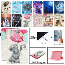 Wallet T580 T585 Samsung Galaxy Tablet Flip-Stand-Case Anti-Crack-Cover for A6 Coque