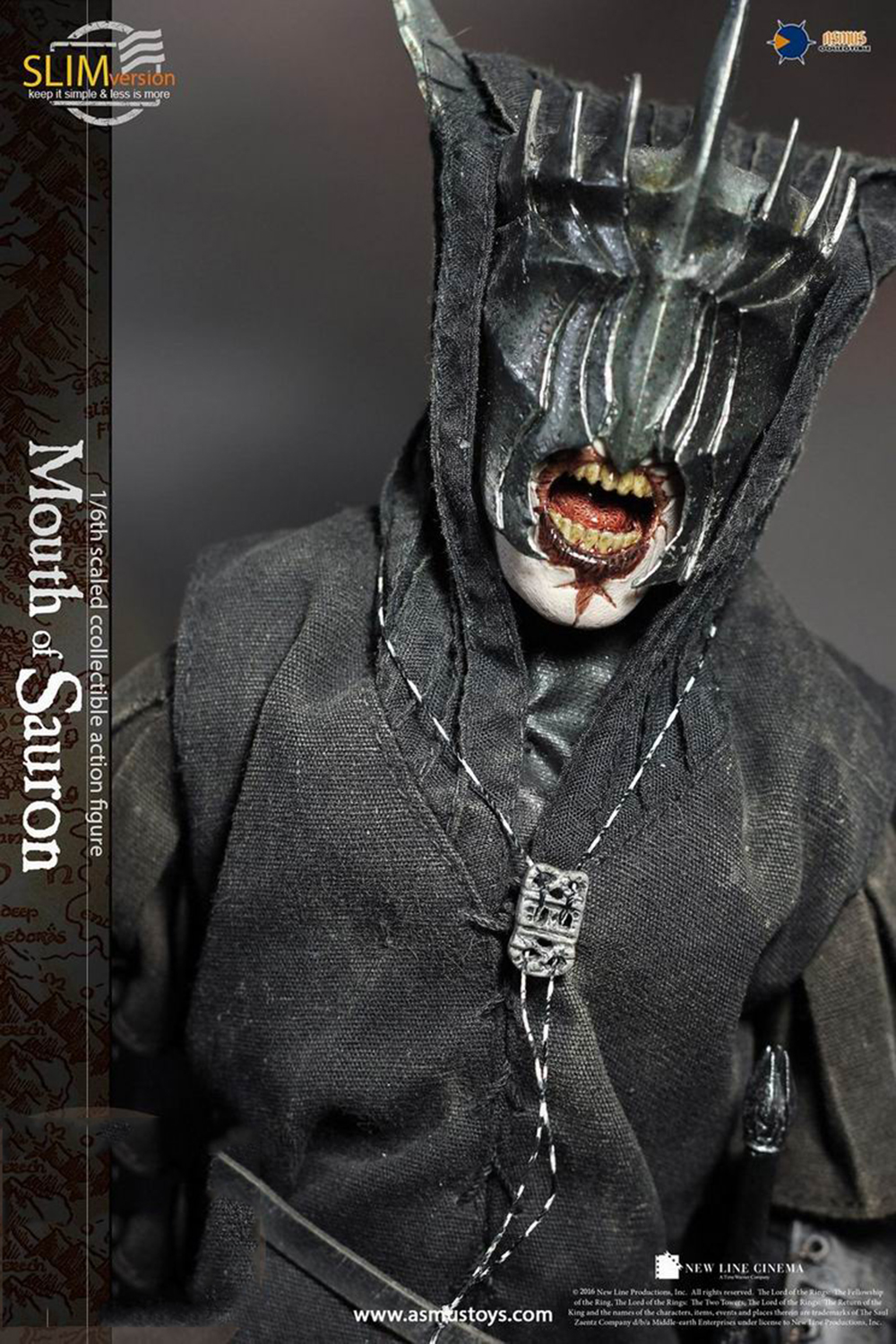 LOTR009S The Lord of the Rings Mouth of Sauron 1//6 Collectible Solider Figure