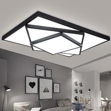 עיצוב חדש LED תקרת אור סלון חדר אוכל חדר שינה luminaria led Lamparas דה Techo Lustres Led אורות לבית תאורה