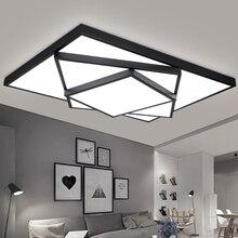 Novo design conduziu a luz de teto para sala estar jantar quarto luminaria led lamparas de techo lustres luzes led para casa iluminação