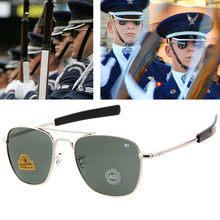 New Fashion Aviation Sunglasses Men Brand Designer American Army Military Optical AO Sun Glasses For Male UV400 Oculos de sol