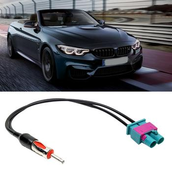 Exterior Parts Aerials Vehicle Stereo Radio Antenna Adaptor Connection Cable for V-W F-ord BM-W наклейки на авто автотовары image