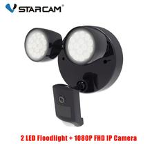 Vstarcam Outdoor HD 1080P LED Floodlight IP Camera Wifi Outdoor Waterproof Camera PIR Motion Detection Surveillance Security Cam цена