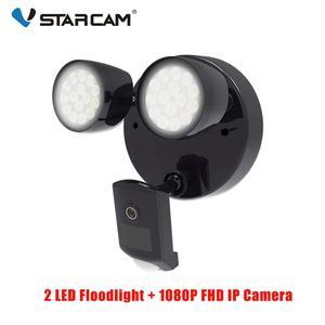 Image 1 - Vstarcam Outdoor HD 1080P LED Floodlight IP Camera Wifi Outdoor Waterproof Camera PIR Motion Detection Surveillance Security Cam