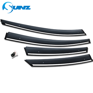 Image 4 - Window Air Vent Visor For Toyota Prius 2016 2017 2018 Window Visor Vent Shade Sun Rain Deflector Guards SUNZ