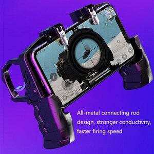 Image 5 - Gaming Controller Helper Mobile Phone Game Shooter Trigger Fire Button Gamepad Joystick Black