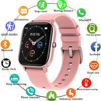 LIGE 2020 nuevo reloj inteligente para hombres LDE Color pantalla táctil completa Fitness Tracker podómetro impermeable reloj deportivo pulsera inteligente para mujeres