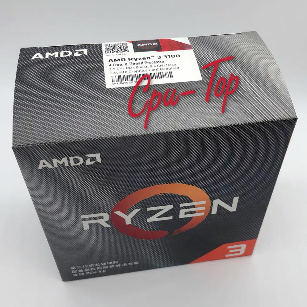 AMD Ryzen 3 3100 R3 3100 3.6 GHz Quad Core Eight Thread 65W CPU Processor L3=16M 100 000000284 Socket AM4 Come with the cooler|CPUs| - AliExpress