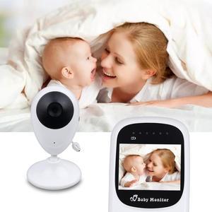 Image 1 - Cor de Vídeo sem fio Baby Monitor com 2.4 Polegadas LCD 2 Áudio Bidirecional Discussão Night Vision Segurança Vigilância Câmera Babá
