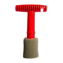 Szczotka do czyszczenia śrub samochodowych trwała szczotka do nakrętek samochodowych tanie tanio CN (pochodzenie) car cleaning brush car nut cleaning brush screw brush for car car accessories car rim cleaning brush
