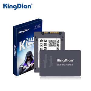 KingDian SSD 32GB 60GB 64GB 120GB 128GB 480GB 240GB 256GB 2.5'' SATAII SATA3 Solid State Drive for Laptop Desktop SDD Disk(China)