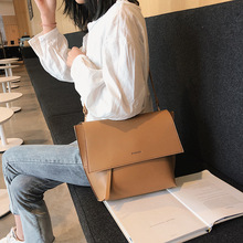Casual Pu Female Flap Bag Women Big Tote Bags Fashion Pu Leather Ladies Handbags Large Capacity Shoulder Messenger Bag Bolsos pu leather handbags female square shoulder bags women large tote fashion ladies shoulder bag simple leather messenger bags