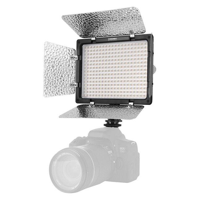 Yongnuo YN300 III YN300III 3200k-5500K CRI95 Camera Photo LED Video Light Optional with AC Power Adapter + NP770 Battery KIT