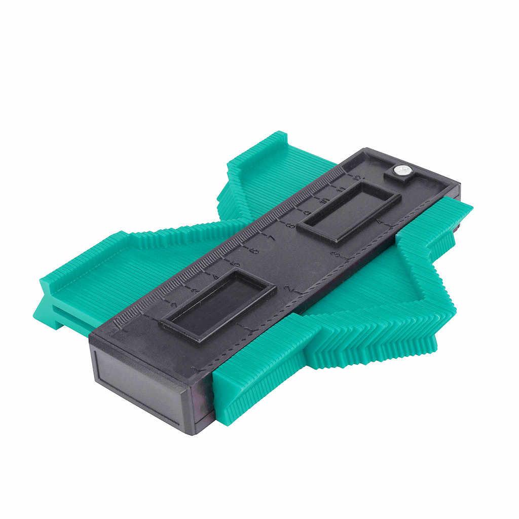 """20 # Profiel Kopie Gauge Contour Gauge Plastic Duplicator Standaard 5 """"Breedte Hout Markering Tool Betegelen Laminaat Tegels Algemene gereedschap"""