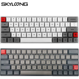 SKYLOONG SK64 Hot Swappable Mechanical Keyboard With RGB Backlit Wireless Bluetooth Gaming Keyboard ABS Keycaps For Win/Mac GK64(China)