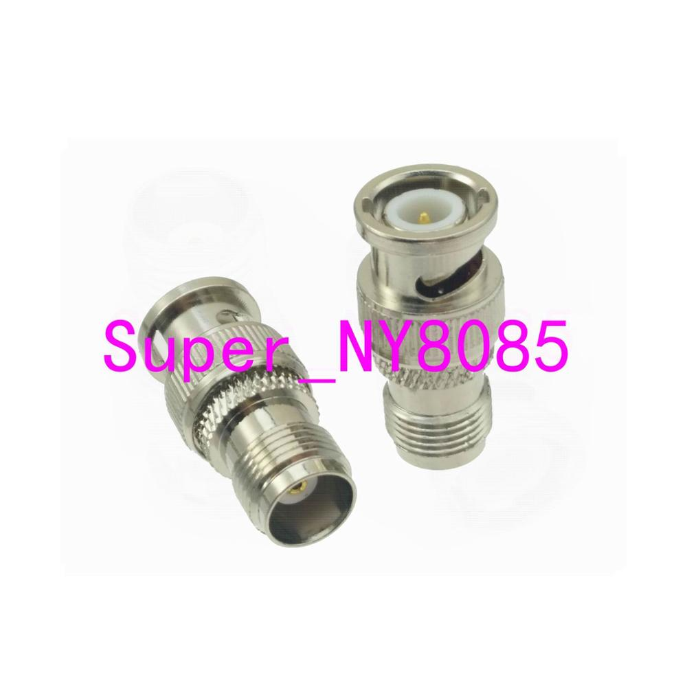 RF BNC Plug Male to FME Plug Male Straight Coaxial Connector Cable Adapter USA Shipping
