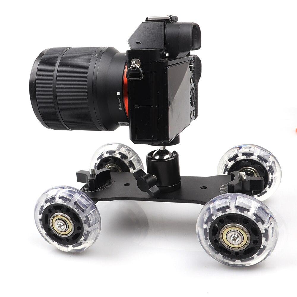 Тележка-слайдер Lightdow 2 в 1 для фотоаппаратов DSLR и фотоаппаратов