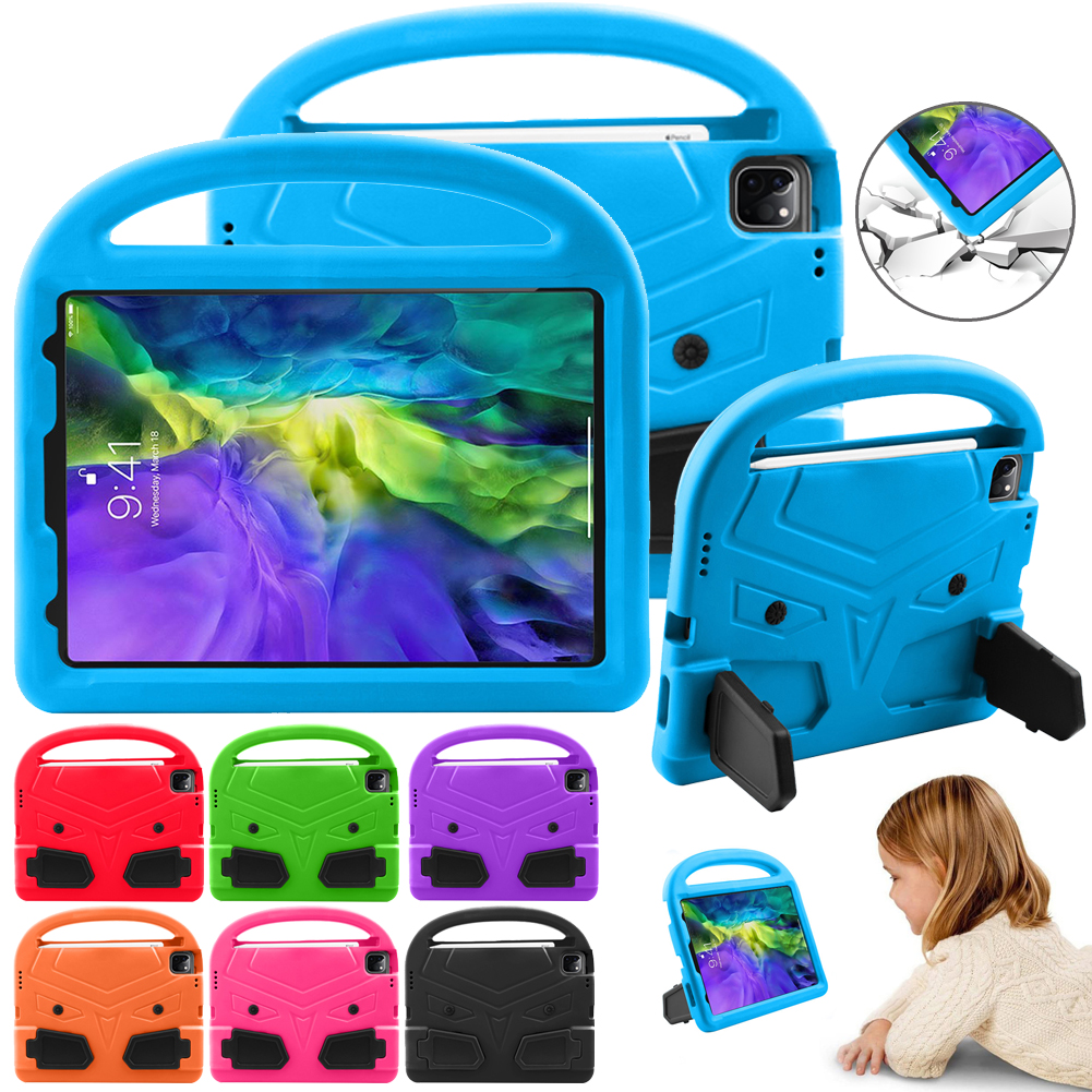Stand 2020 EVA Case Tablet Case Safe for 4 A2316 Kids Air A2324 Cover Handle iPad