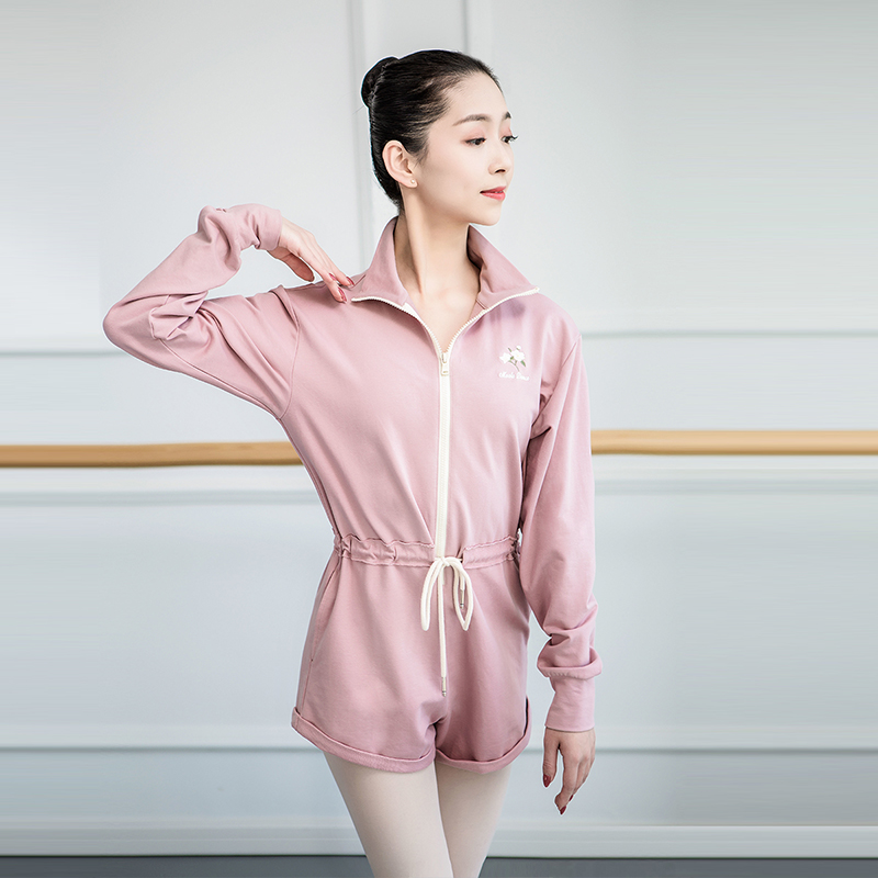 Women's Girls Body Ballet Leotard Ballerina Party Long Sleeve Unitards Girl Ballet <font><b>Dance</b></font> Gymnastics Jumpsuit Leotard Bodysuits image