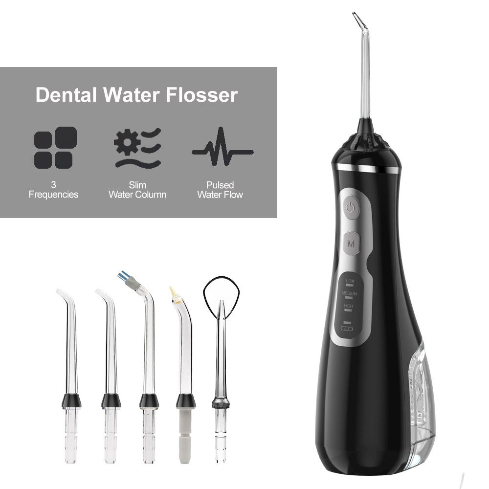 Portable Dental Floss Oral Irrigator Water Flosser Irrigation Water Jet Dental Irrigator Flosser Teeth Cleaner Oral Cleaning