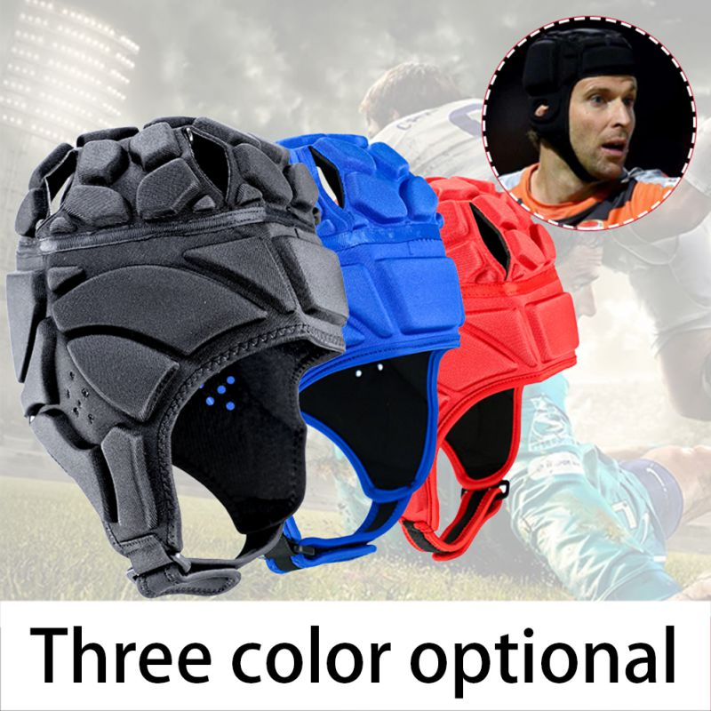 For Children Adult Men's Sport Goalkeeper Adjustable Soccer Goalie Helmet Head Protector Support Accessories