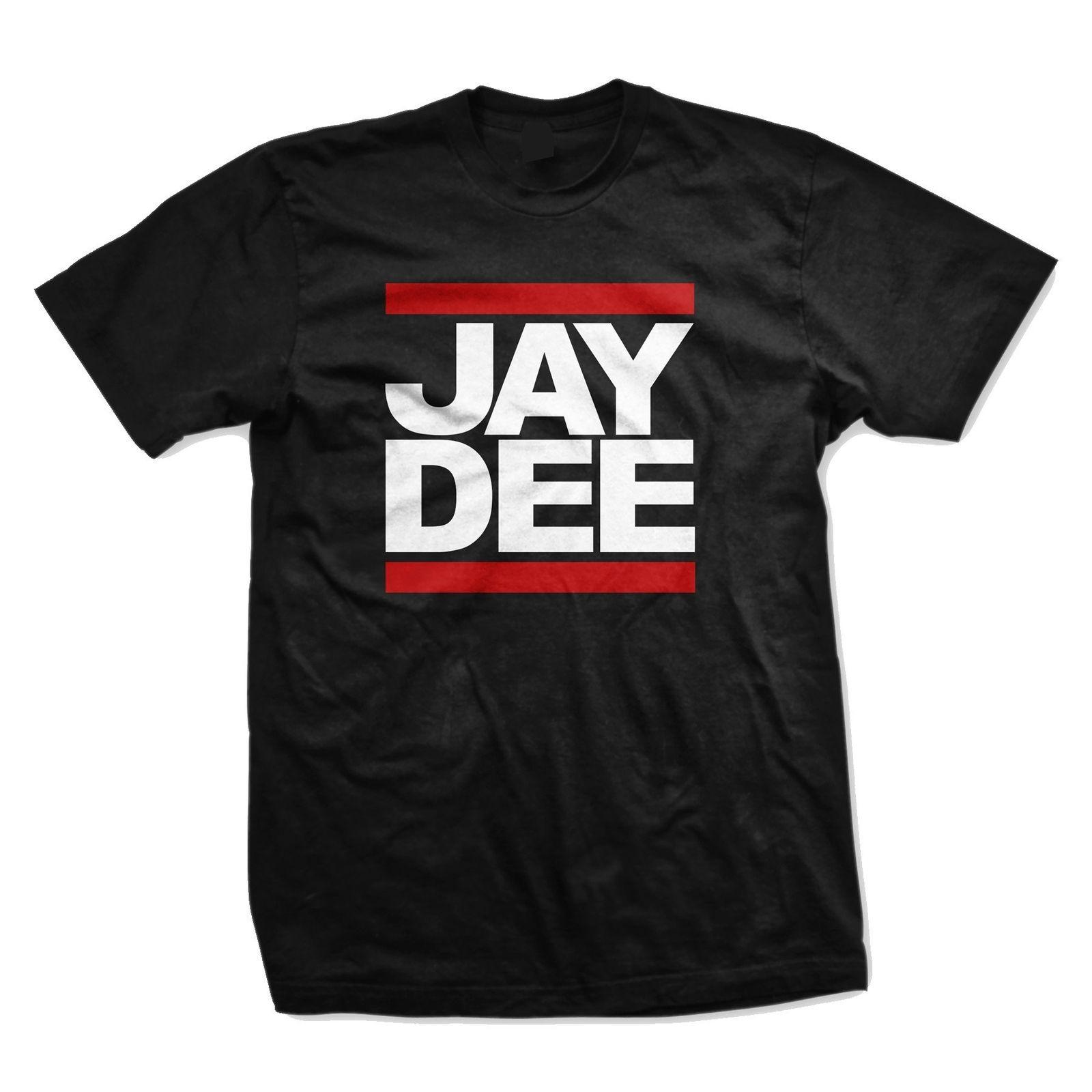 Jay Dee AKA J Dilla T-Shirt Brand T-Shirt Men Fashion Short Sleeve Discount 100 %  T Shirts Harajuku Funny Tops