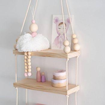 Baletnica wisząca dekoracja dziewczyna ozdoby drewniane koraliki zabawka na półkę ścienną Baby Kids Room przedszkole Ornament zdjęcie rekwizytu tanie i dobre opinie CN (pochodzenie) Pp bawełna 11 cm-30 cm 8 ~ 13 Lat Urodzenia ~ 24 Miesięcy 14 lat 2-4 lat 5-7 lat Dorośli Wooden bead toys